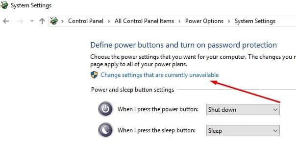 windows 10 fast startup not working