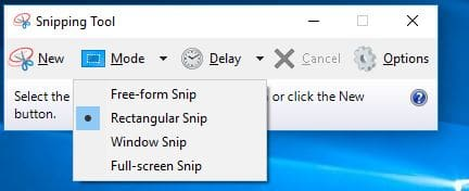 Useful Snipping Tool Shortcuts for Screenshots in Windows 10