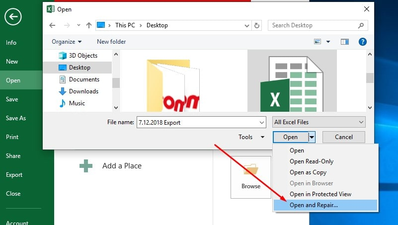 Solved: Microsoft excel not responding/stopped working