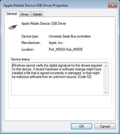 Solved: Windows Cannot Verify the Digital Signature (Error