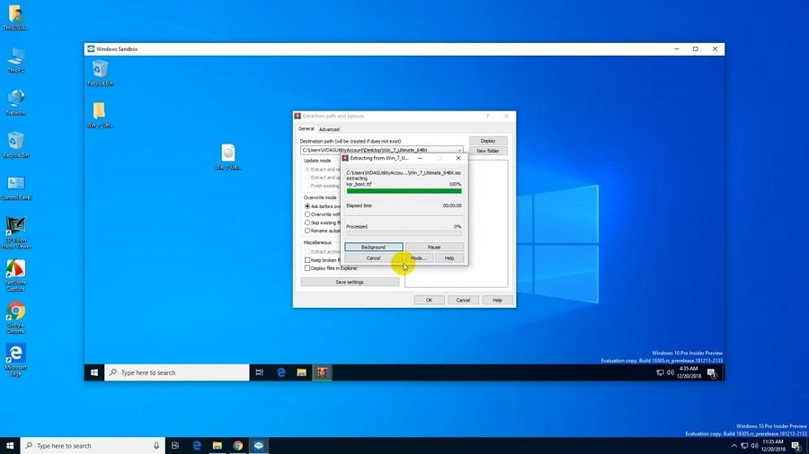 Windows 10 version 1903, May 2019 Update Here new features introduced